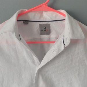 Not JB boys 16 white button down shirt